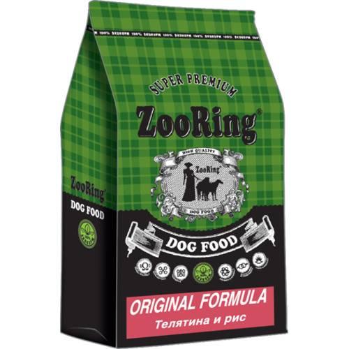 ZooRing Original Formula  ТЕЛЯТИНА И РИС 2кг,10кг, 20кг.